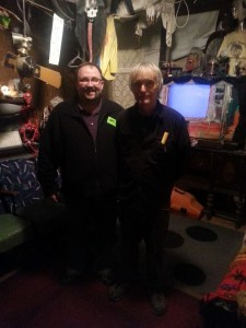 Canman and Jim Warfield of Raven's Grin Inn
